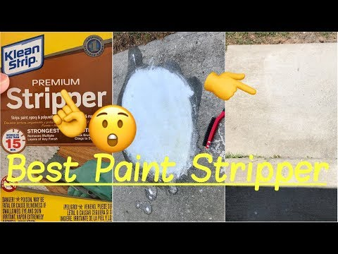 ✅Best Paint Remover Stripper | How to Remove Paint from Cement, Wood, Metal or Masonry Review