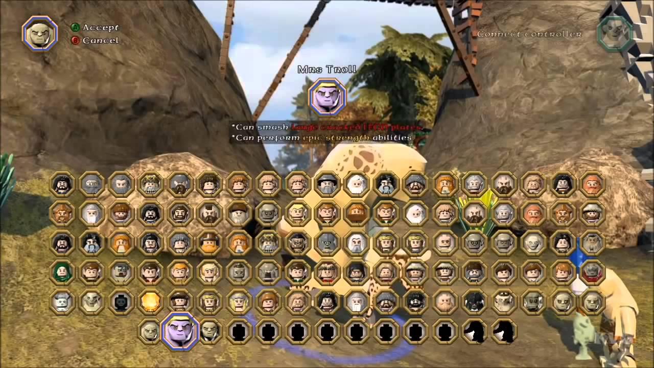 Коды на персонажи лего властелин колец участники последнего героя всех сезонов
