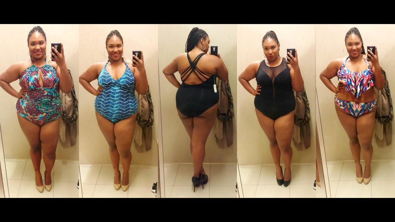 fed97c8b06d20 Plus Size Bathing Suit Try On| Lord & Taylor and Macy's - YouTube