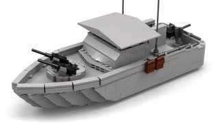 Lego Vietnam War River Patrol Boat Instructions