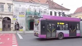 Cluj Napoca trolleybuses 2017-2018