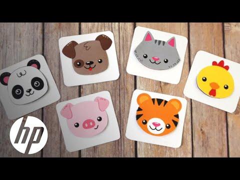 Free Printable Animal Bookmarks | HP Printers | HP