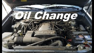 Oil Change Toyota Sequoia and Toyota Tundra 2000-2006