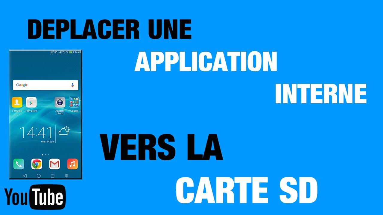 deplacer application sur carte sd huawei p9 lite Honor 7   Comment déplacer une application vers carte SD   Mémoire