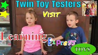 Toy shopping... Toy Hunting Learning Express