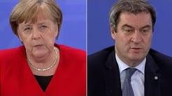 """Merkel: """"Spielbetrieb unter genehmigten Regeln erlaubt"""""""