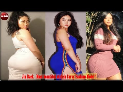 Jin Baek - Most beautiful stylish Curvy Model !
