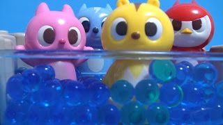미니특공대 장난감 수영장놀이  Miniforce Swi…