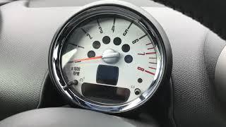 Remise a 0 pneus Mini