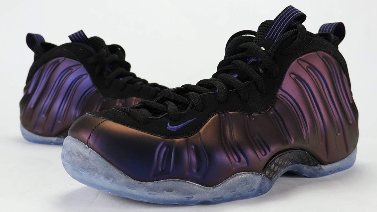 1784bbd77034f Nike Air Foamposite One Eggplant 2017 Review + On Feet - YouTube