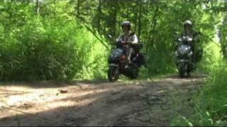 путешествие на скутере 2010.(Путешествие вдоль Ладоги на скутере., 2011-02-16T09:12:27.000Z)