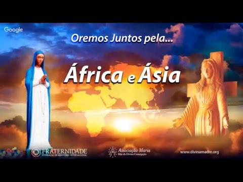 Orando pela Paz na ÁFRICA e ÁSIA • 26 de maio • 18h30 (Luanda) / 14h30 (Brasília)