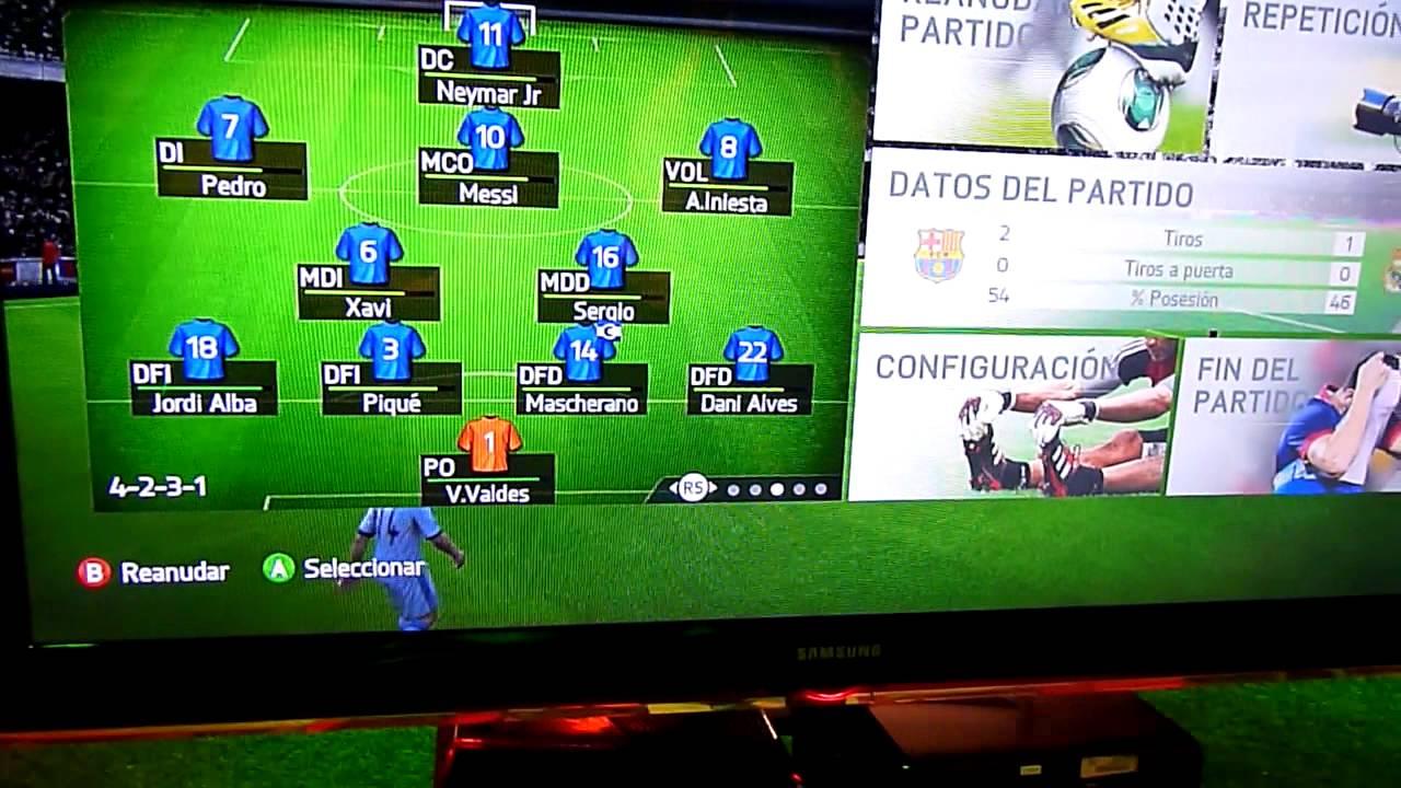 Menu FIFA 14 - YouTube