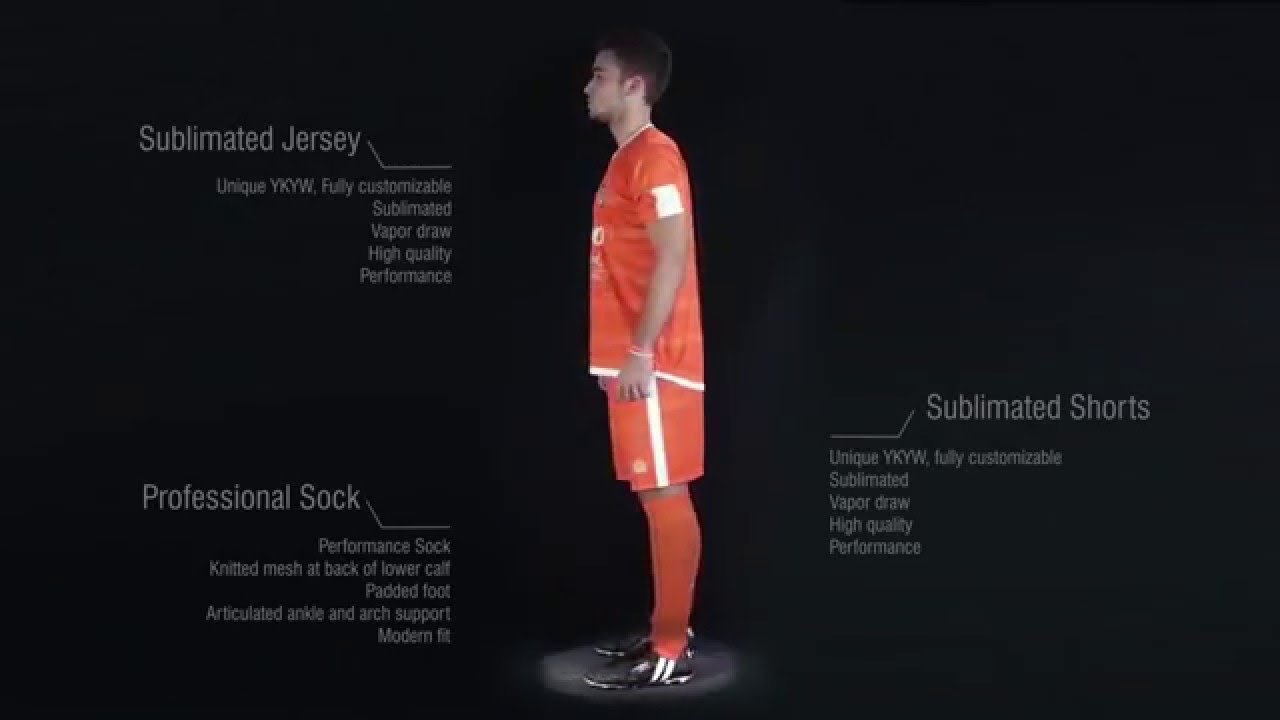 f174487aa Custom soccer kit by Admiral Sports - YouTube
