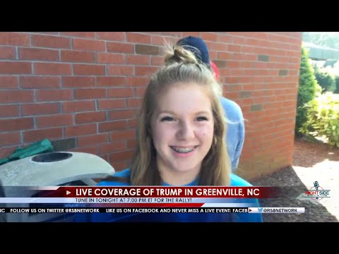 RSBN LIVE: Live Coverage of Donald Trump in Greenville, NC 9/6/16
