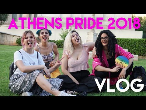 ΠΑΡΟΥΣΑ | ATHENS PRIDE 2018 🏳️🌈 | BLACK VELOUR