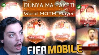 COŞTUM MAÇIN ADAMI PAKETLERİNDEN 5 OYUNCU Fifa Mobile