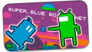СТРИМ: SUPER BLUE BOY PLANET (Обзор бесплатной игры)