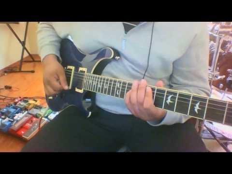 Vientos de Guerra, Saratoga cover guitarra