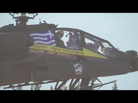 Hellenic Army Aviation Apache AH-64D in Athens Flying Week Tatoi