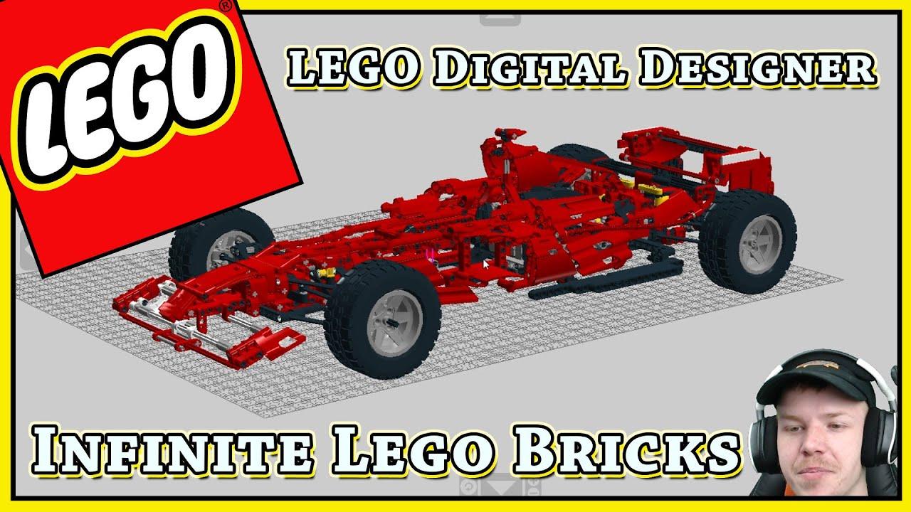 infinite lego bricks lego digital designer doovi. Black Bedroom Furniture Sets. Home Design Ideas