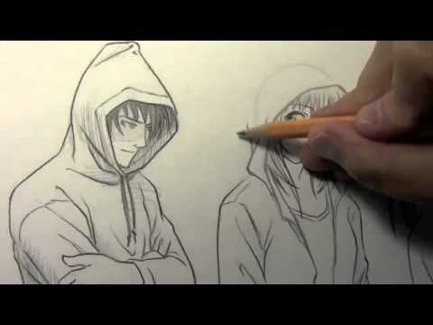 How To Draw Hoods Up