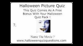 Halloween Quiz | Halloween Picture Quiz | Halloween Movie Quiz
