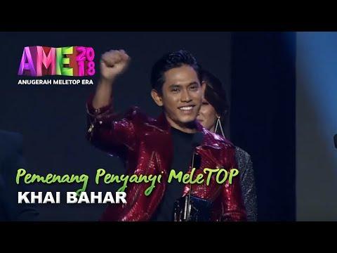 #AME2018 I Khai Bahar | Pemenang Penyanyi MeleTOP I Anugerah MeleTOP Era 2018