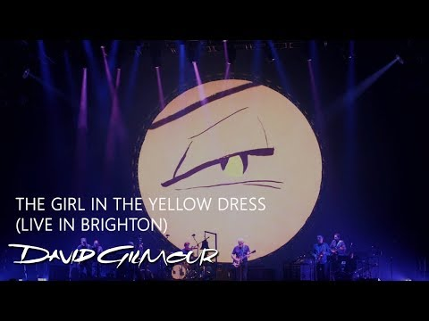 David Gilmour - The Girl In the Yellow Dress (Live in Brighton)