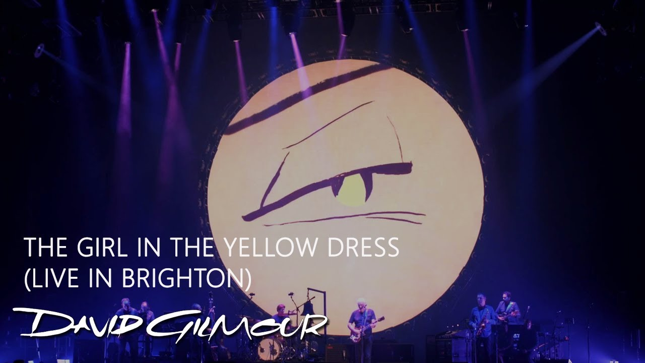 7ecea30404c David Gilmour - The Girl In the Yellow Dress (Live in Brighton)