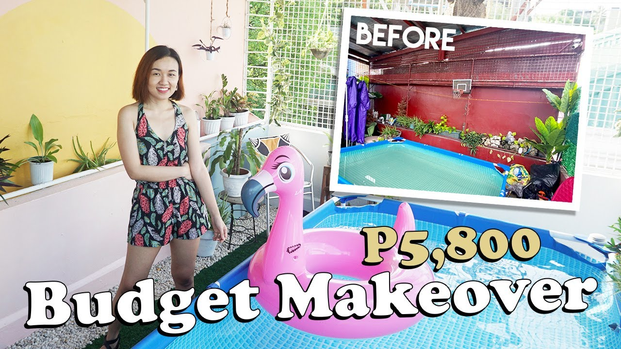 Rooftop Budget Makeover // Colorful Transformation // by Elle Uy