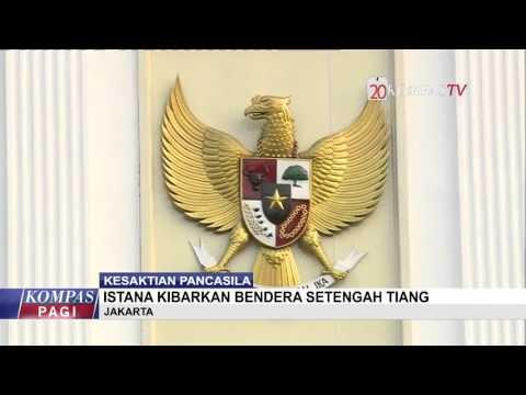 Istana Negara Kibarkan Bendera Setengah Tiang