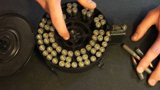Loading An AK-47 Drum Magazine Step By Step How To