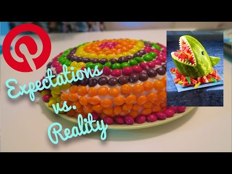 PINTEREST EXPECTATIONS VS  REALITY!