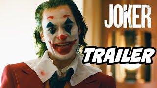 Joker Trailer Official Batman Easter Eggs and References Breakdown