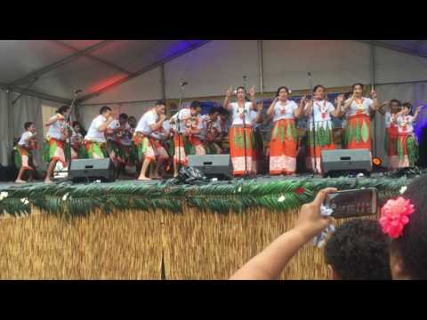 Rotuman dance at the National Multicultural Festival, Canberra 2017