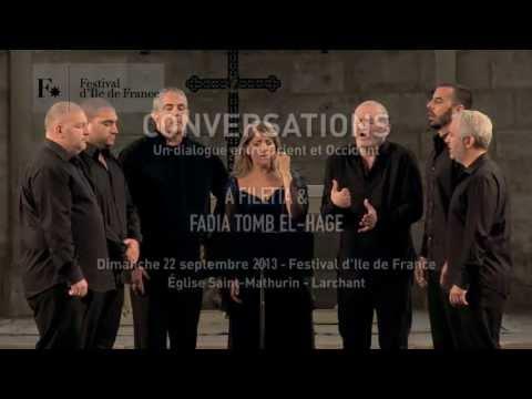 A Filetta & Fadia Tomb El Hage - Festival d'Ile de France - Larchant 22 septembre 2013