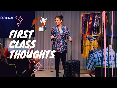 First Class Thoughts
