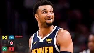 The denver nuggets' jamal murray ended his game vs. boston celtics with 48 points, but attempted a last-second uncontested shot to make it 50. despite mi...