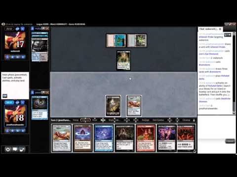 #thedailywars #22 - Legacy Grinding Station League Match 5 vs. Grixis Delver