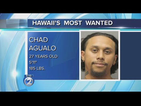 Hawaii's Most Wanted: Chad Agualo