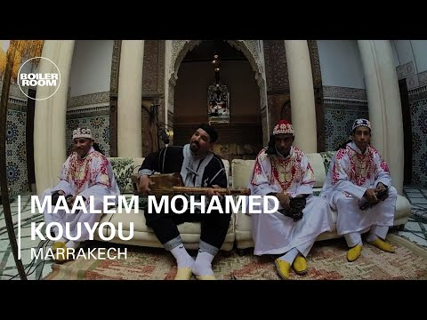 Maalem Mohamed Kouyou Boiler Room Marrakech Live Performance