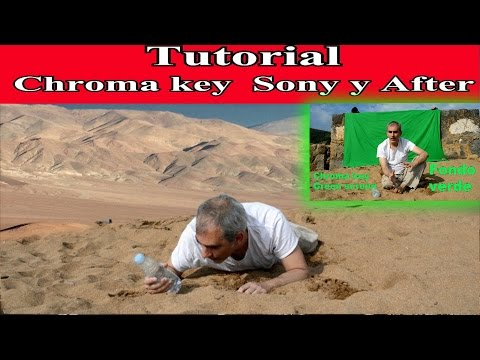 Tutorial chroma key o pantalla verde con Sony vegas y After effects