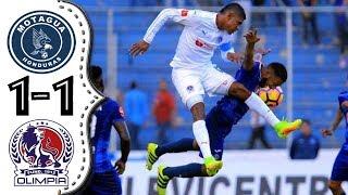 Motagua VS Olimpia 1-1 Resumen Completo ᴴᴰ semifinal de vuelta Liga 5 Estrellas.