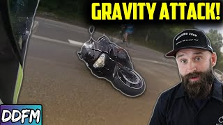 """This Is What """"Too Much Front Brake"""" Looks Like"""