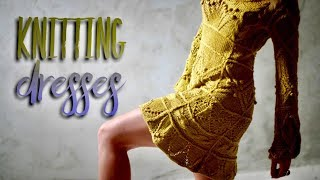 ВЯЖЕМ ПЛАТЬЯ СПИЦАМИ ???? / ОБЗОР / Knitting Dresses Review