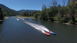 Jet Boat Racing! Rogue River National Rooster Crow Jet Boat Race! 2016