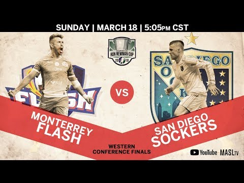 Monterrey Flash vs San Diego Sockers