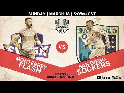 Monterrey Flash vs San Diego Sockers