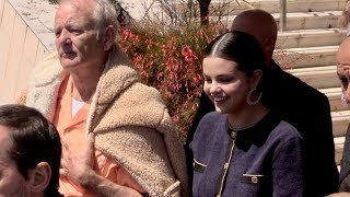 EXCLUSIVE : Selena Gomez playing jokes on Bill Murray in Cannes